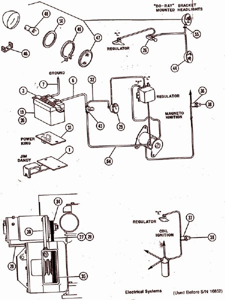 garden tractor wiring diagram parts list manual parts book and another basic wiring diagram courtesy of small engines com